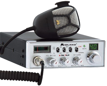 Picture of an older style CB Radio