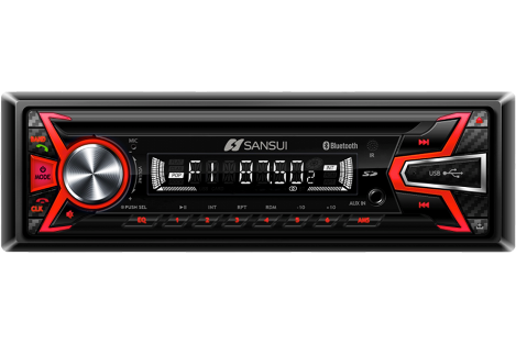 Picture of a modern car radio unit