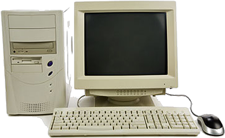 Picture of older style computer
