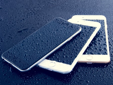 Wet mobile phones