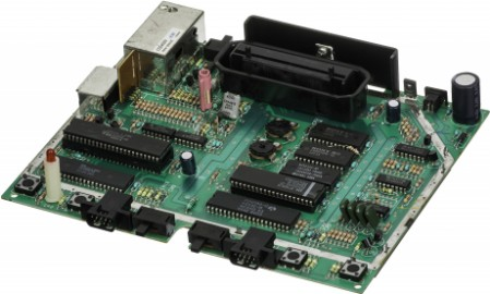 Picture of a motherboard